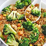 Broccoli Egg Fried Rice fuss free cooking