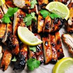 5-Ingredient Sriracha Grilled Chicken by FussFreeCooking.com Feature