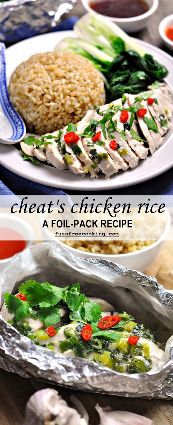 Cheat's Hainanese Chicken Rice - fussfreecooking.com (6)