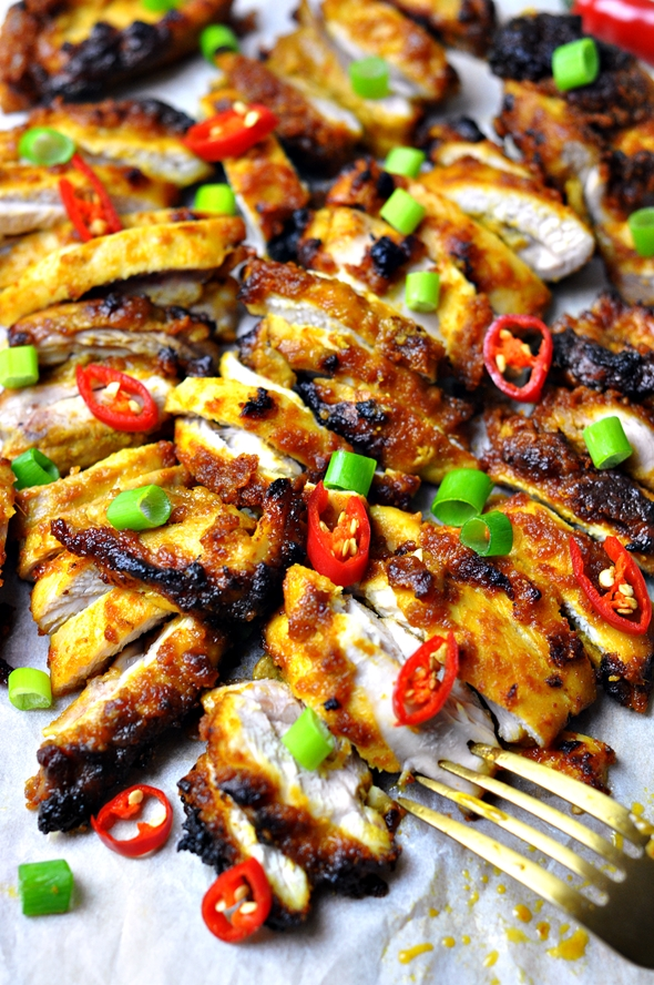 Grilled Satay Chicken by Fuss Free Cooking 3