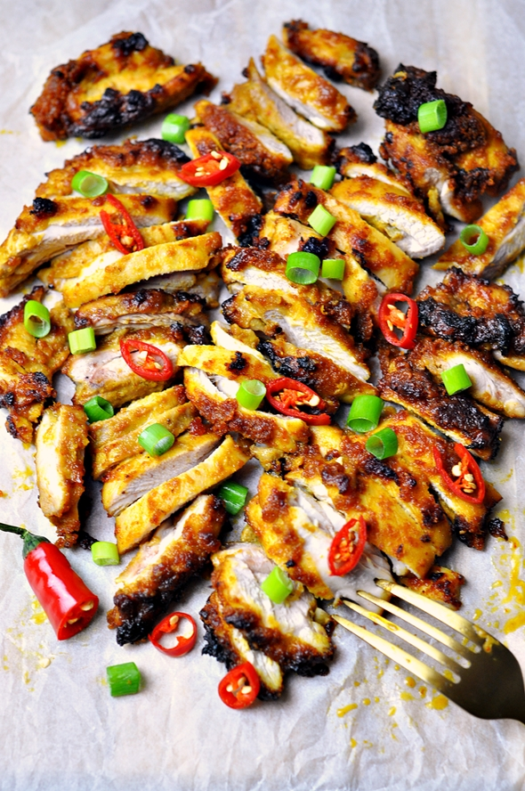 Grilled Satay Chicken by Fuss Free Cooking 6