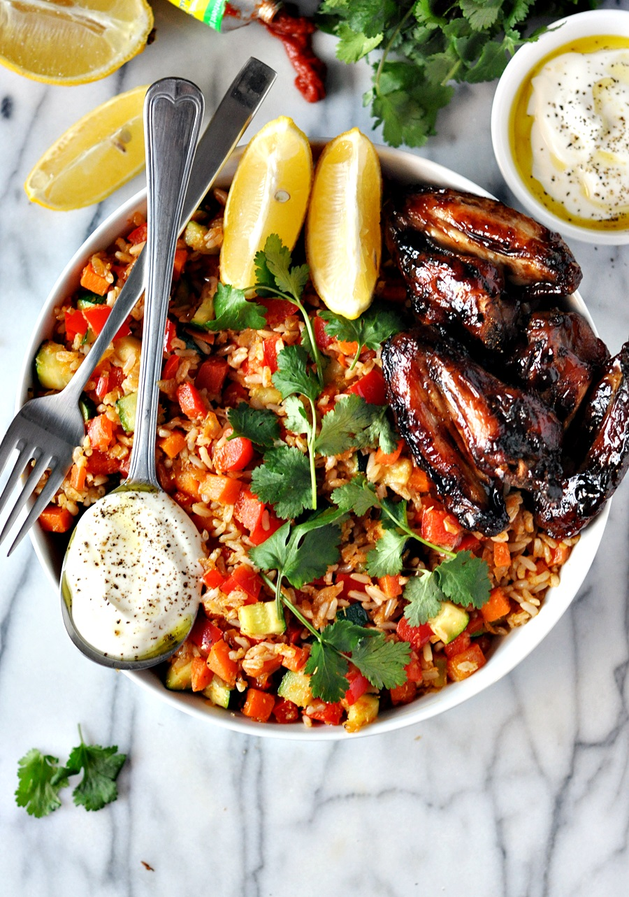Middle Eastern Harissa and Coconut Fried Rice