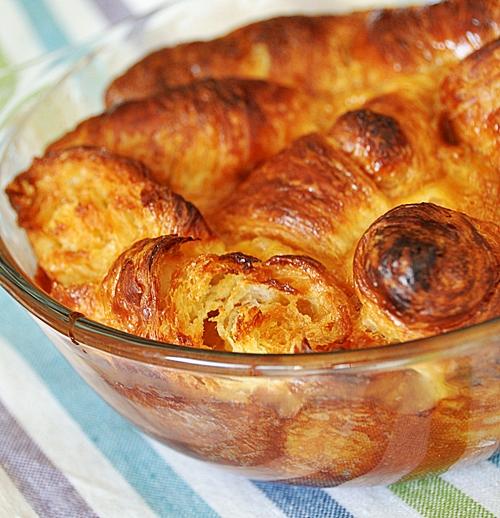 Nigella Lawson's Caramel Croissont Pudding