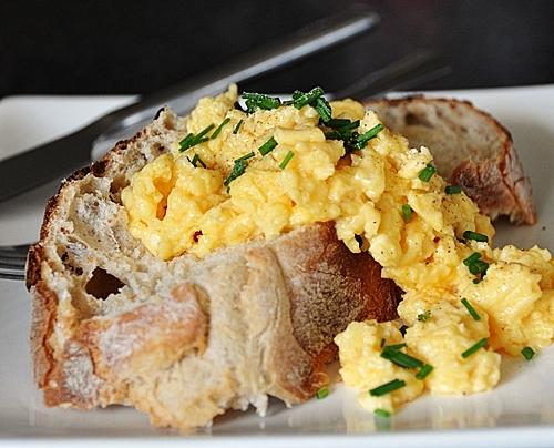 Scrambled Black-Truffle-Infused-Eggs
