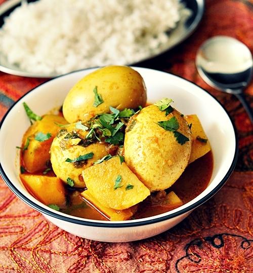 Egg & Potato Curry