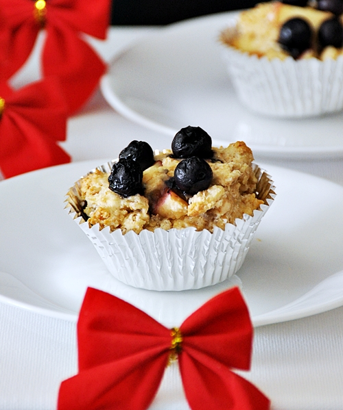 Apple & Blueberry Wholemeal Muffins – A Healthy New Year Resolution