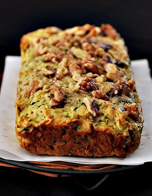 Easy Walnut & Zucchini Loaf