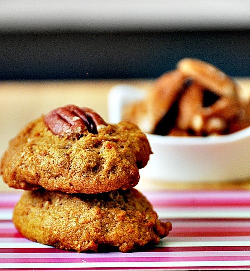 """Soft"" Sweet Potato with Pecans Cookies"