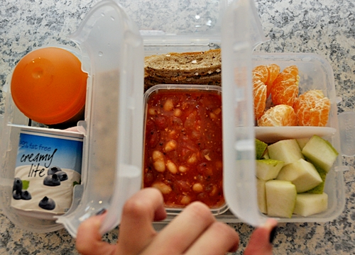 """[Review – Product] Packed Lunch using """"Rubbish Free Lunch Box"""" [Nude Food Movers]"""