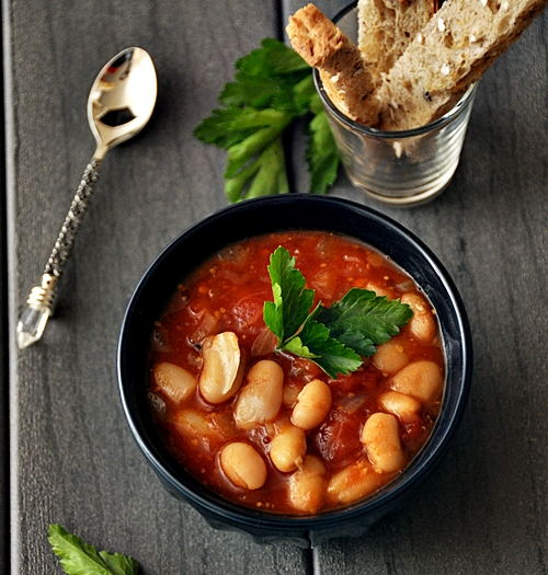 Maple Syrup Flavoured Homemade Baked Beans