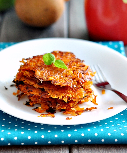 Easter Sat & Sun + Two Cheeses Sweet Potato Hash Brown