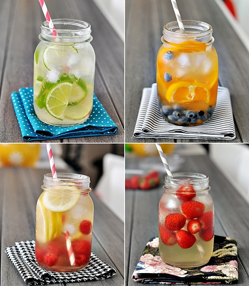Fruit Infused Coconut Water – 4 Ways with C Coconut Water