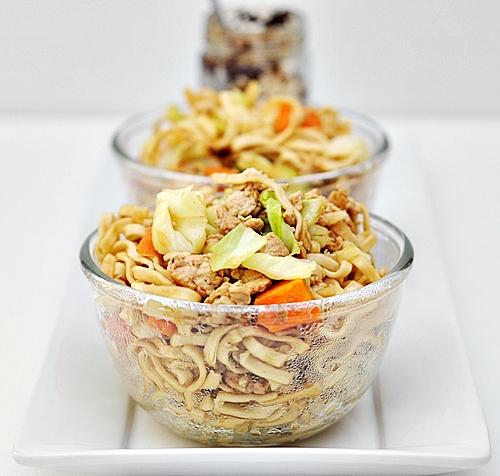 Chicken & Vegetables Noodles