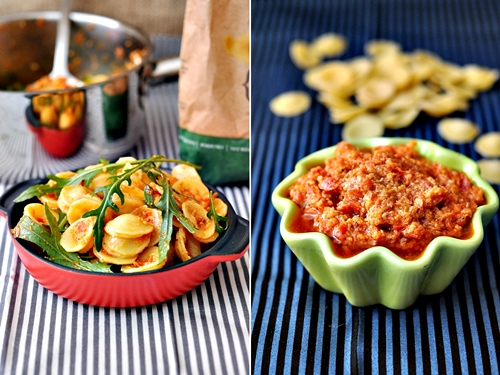 Sundried Tomato Pesto & San Remo Artisan Pasta
