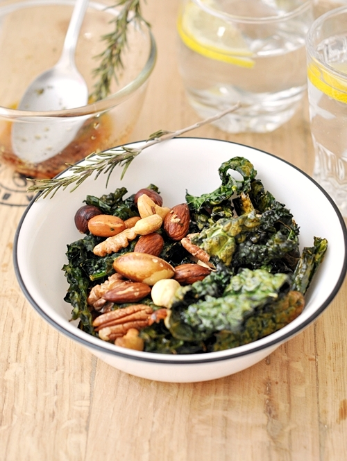 Kale Chips & Nut Mix (Savoury)