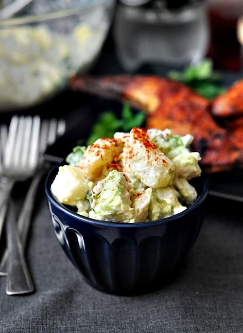 Potato, Avocado & Pickled Jalapeños Salad