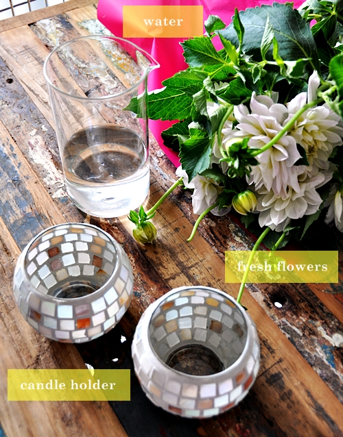 Lifestyle : Candle Holders Double As Vases