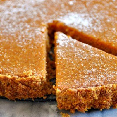 Pumpkin & Coconut Tart | A Gluten Free Baking Recipe