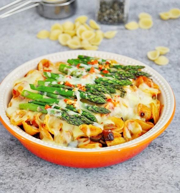 [Recipe] Orecchiette with Olive, Capers & Chili, featuring Barilla Pasta & Sauce