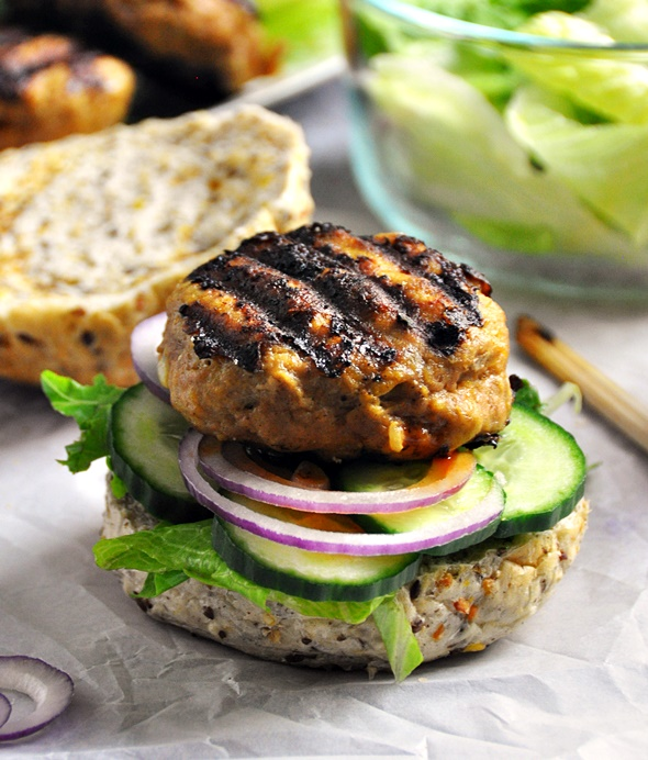 Featured Blogger: Abby from Things for Boys & Satay Turkey Burgers Recipe