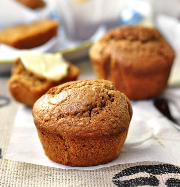 [Recipe] Cinnamon & Coffee Wholemeal Muffins