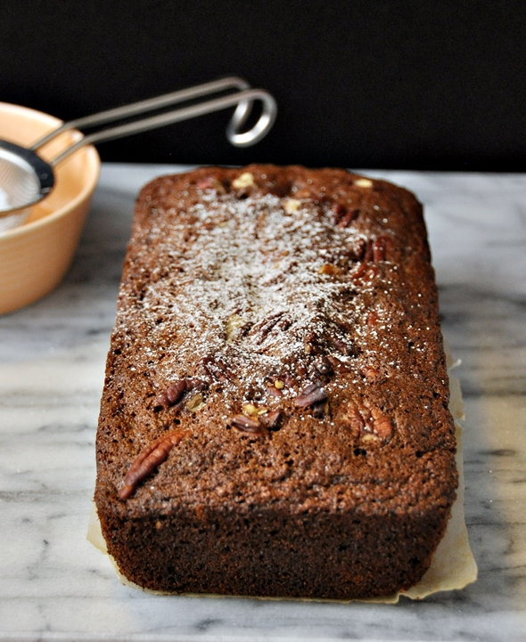 Gingerbread Loaf with Carrot, Pecan & Dates