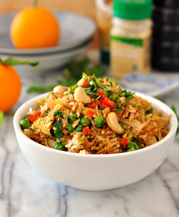 [Recipe] Chicken & Coriander Fried Rice + An Exciting Annoucement!