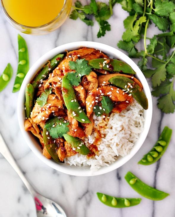 [Recipe] Sambal Chicken Stir-Fry with Sugar Snap Peas