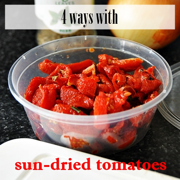 4 Delicious Recipes Using Sun-Dried Tomatoes