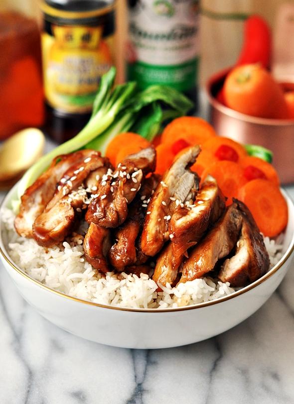 5 Ingredients Honey Soy Chicken (A Gluten Free Recipe)