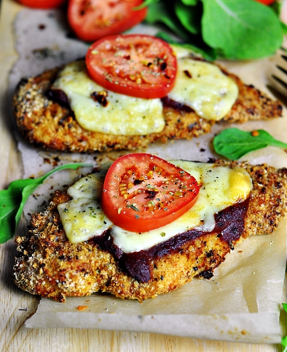 Baked Chicken Parmigiana (Parma) – No Frying Required!