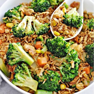 Easy Broccoli & Egg Fried Rice