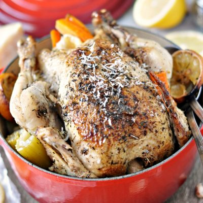 French Oven Roast Chicken